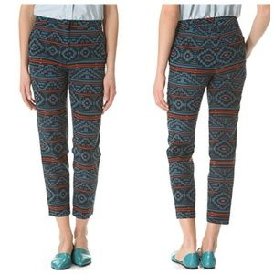 Jenni Kayne Pants - Jenni Kayne Straight Printed Pants